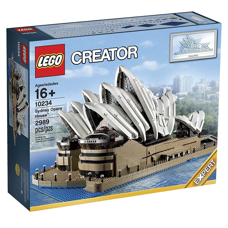 Lego 10234 Sydney Opera House-Brand New in sealed mais Boîtier Endommagé