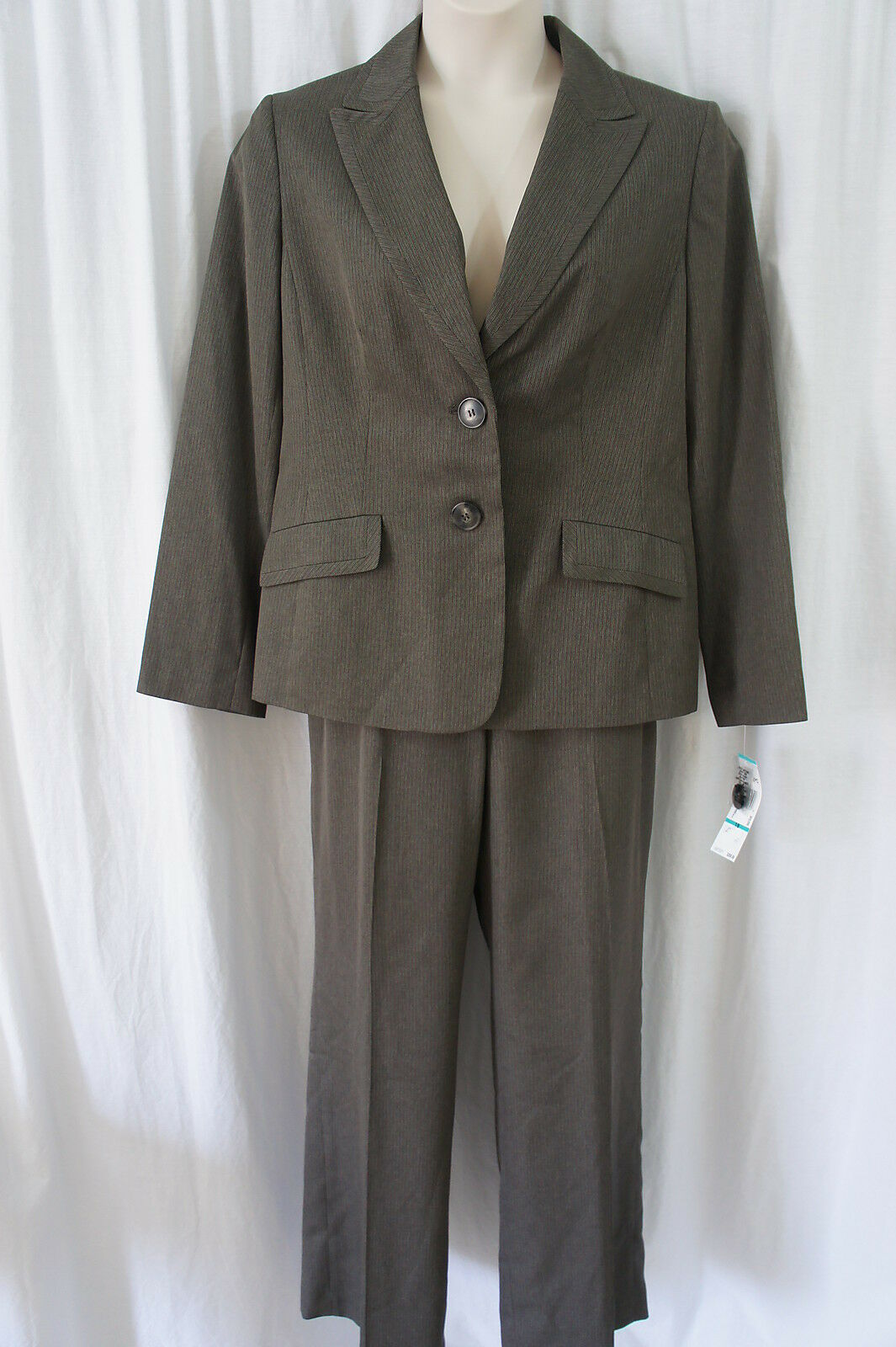 Evan Picone Pant Suit Sz 18 Loden Multi  Liverpool  Business Career Dinner