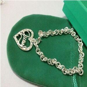 Female-Girls-Silver-Jewellery-925-Silver-Bangle-Bracelet-Gift