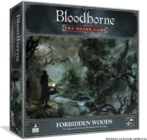 Bloodborne The The The Boardgame Forbidden Woods Expansion Kickstarter CMON Pre Order fca