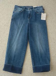 M-amp-S-Indigo-Collection-TG-8m-10m-12m-Gamba-Larga-Ritagliata-Jeans-Denim-Nuova-con-etichetta