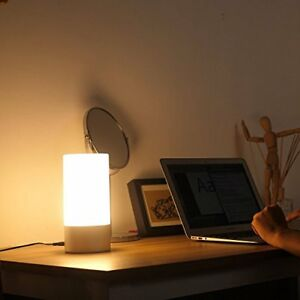 Chevet 360° Ou Contrôle Lampe 6 Table Couleurs Tactile Led À De Aukey A Avec ECBoexQrdW