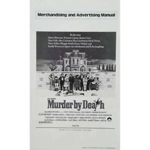 MURDER-BY-DEATH-Original-Pressbook-9x12-in-1976-Robert-Moore-Peter-Sell