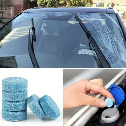 50x Multifunctional Effervescent Spray Cleaner Cleaning Car Windshield Glass vbn