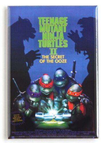 Teenage Mutant Ninja Turtles 2 FRIDGE MAGNET movie poster