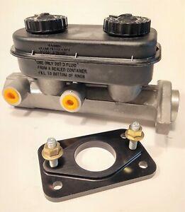 for Mopar A-Body Aluminum Dual Master Cylinder Upgrade Kit Dart Duster Dodge Ply