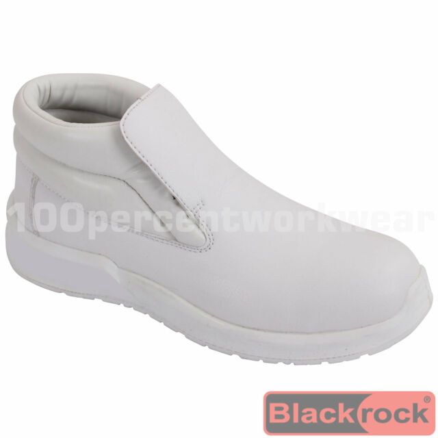 Comfortable Ladies Womens Safety Shoes Steel Toe Cap Nurses Medical Food Hygiene