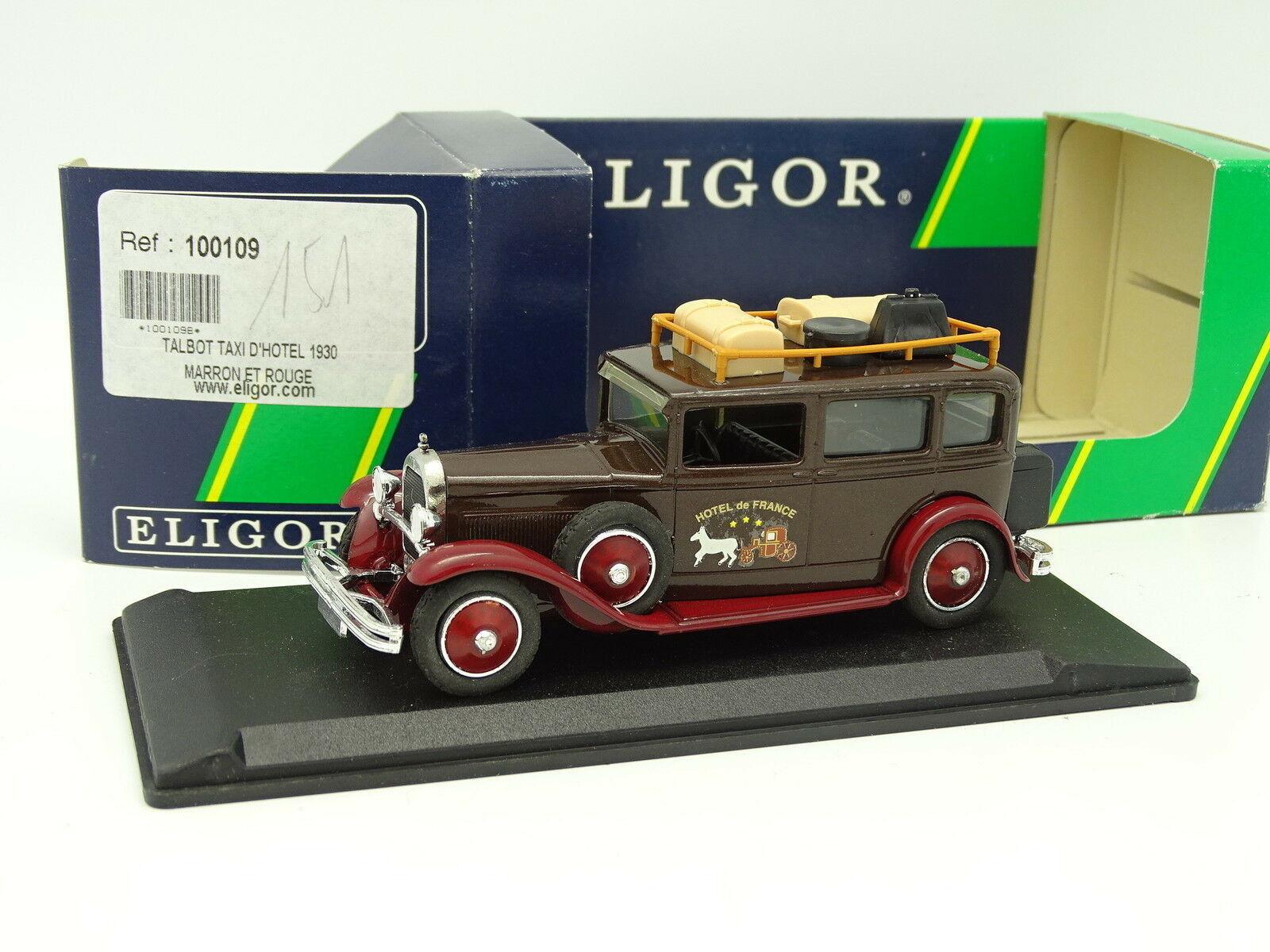 Eligor 1 43 - Talbot Taxi d'Hotel 1930