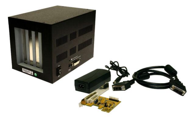 EXSYS EX-1010 -  PCI-Express Bus zu 4x PCI-Slot, Kompakte Expansion-Box