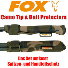 Fox Camo Tip and Butt Protectors CLU389 Rutenschutz Rutenschützer Rod Band