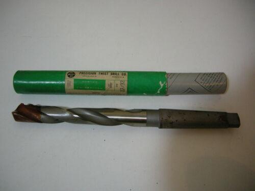 Precision Twist Drill 27//32 D999 Carbide Tipped Taper Bit *New Old Stock