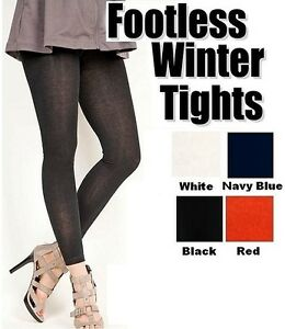 f330a023275 Image is loading Womens-Thick-Super-Soft-2038L-Winter-FOOTLESS-Tight-