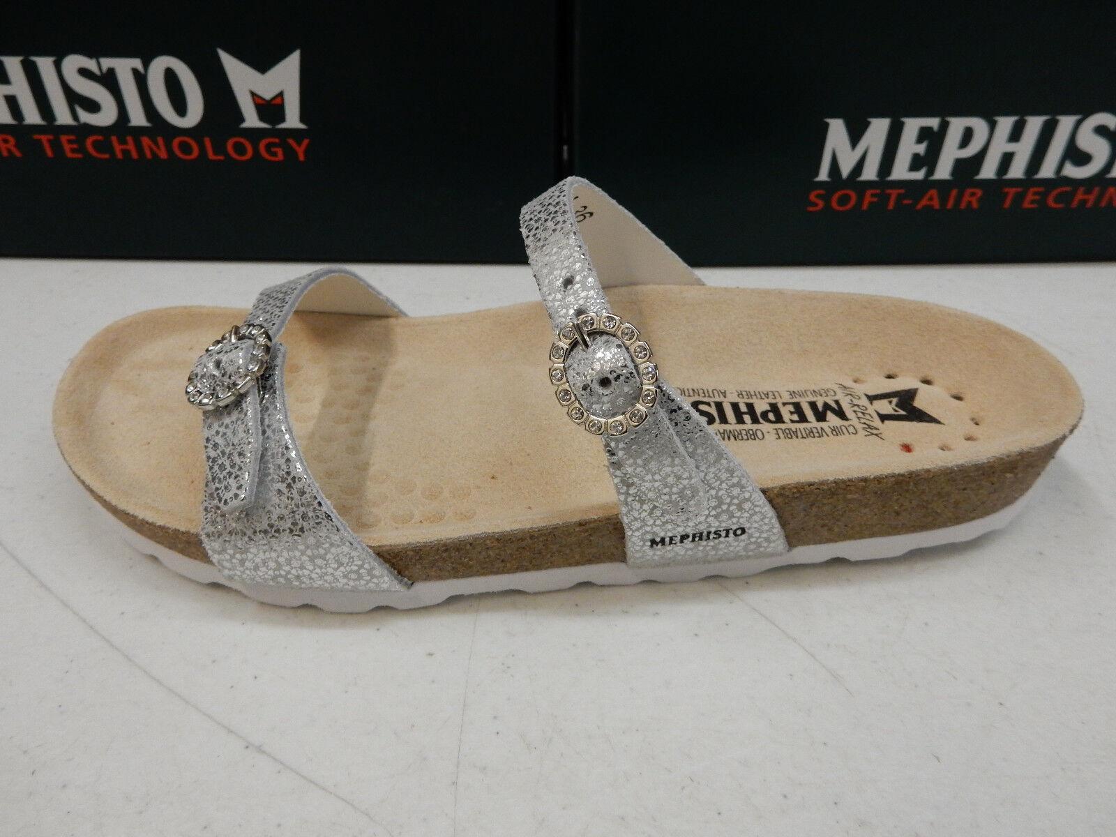 Mephisto para mujer Norie Tamaño De Plata Plata Plata EU 37 (US-7)  de moda