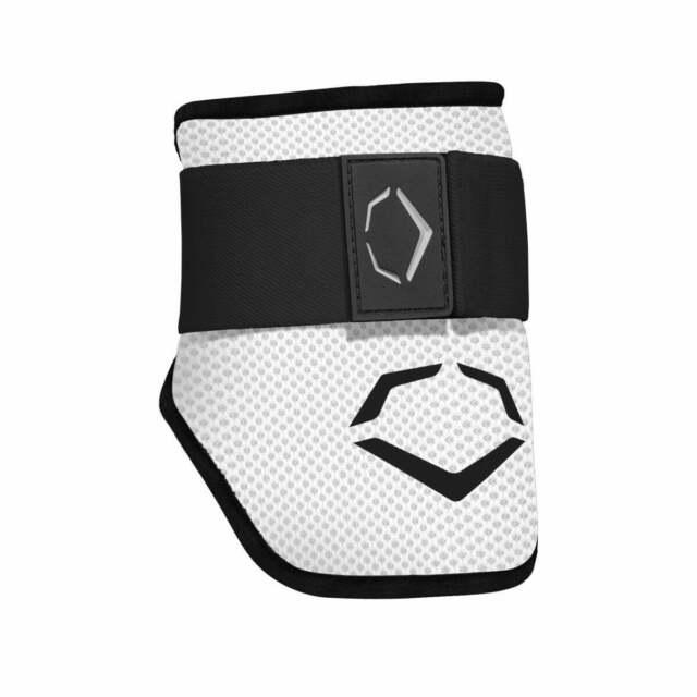 White Large Evoshield SRZ-1 Baseball//Softball Batters Elbow Guard