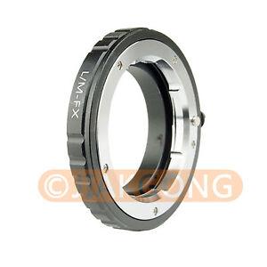 Leica-LM-Objektiv-zu-Fujifilm-X-Fuji-x-pro1-x-m1-x-e1-x-e2-x-pro1-Adapter