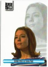 Avengers 50th Entertainment Media Show Unsigned Auto Card EMS7 Diana Rigg