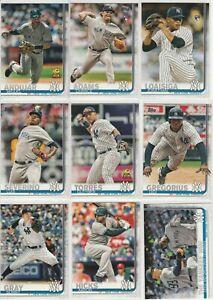 2019-Topps-Series-1-Yankees-Aaron-Judge-Didi-Gregorius-Gleyber-Torres-Severino