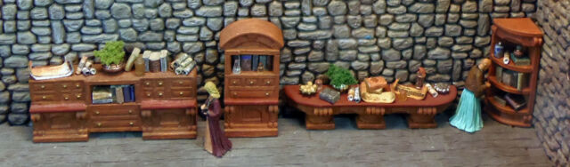 Works with Dwarven Forge and DnD D/&D Painted /& Loaded Basic Furniture Set 2