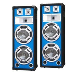 PAAR-SKYTEC-DJ-PA-LAUTSPRECHER-DISCO-BOXEN-LED-1200W