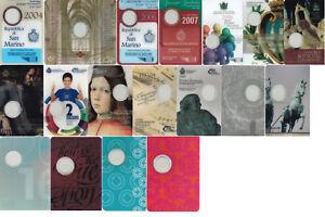 Originales-de-san-marino-Folder-para-2-euros-cc-vacio-todos-los-anos-libre-elegibles