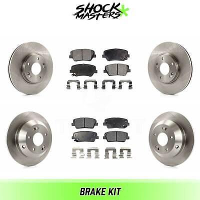Fits 2011-2013 Kia Sorento Front and Rear Ceramic Brake Pads