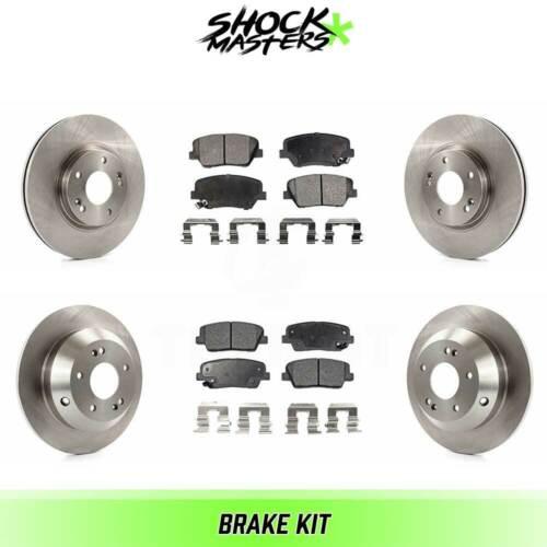 Front /& Rear Ceramic Brake Pads /& Rotors Kit for 2011-2013 Kia Sorento