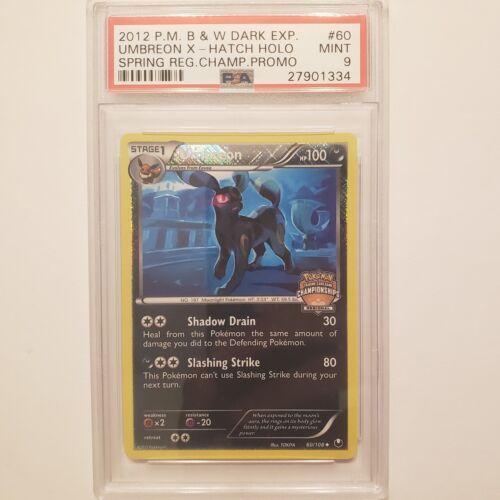 Umbreon X Championship Promo PSA 9 Dark EXP Holo Pokemon Card Mint 60//108