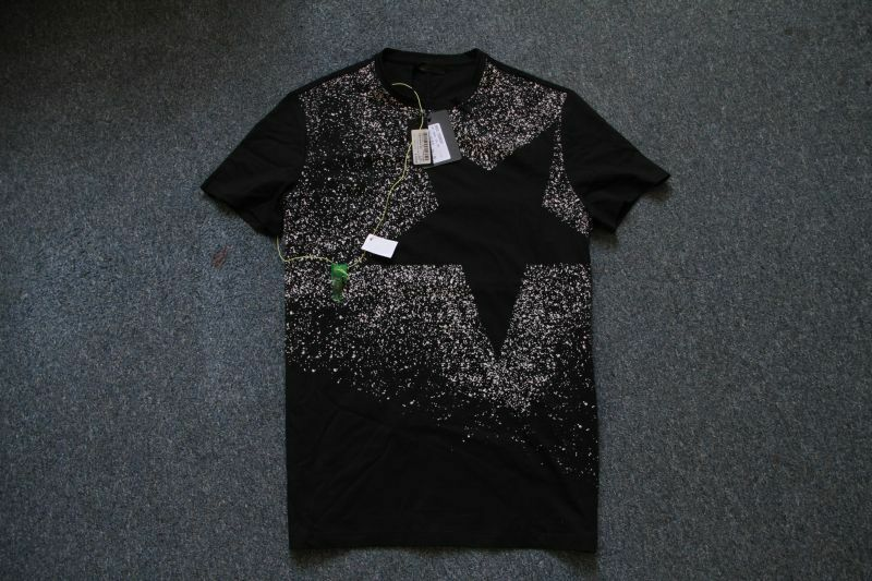 COSTUME NATIONAL HOMME  MEN'S STAR T-SHIRT SIZE M  BNWT 100% AUTHENTIC