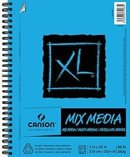 "XL Mix Media Pad, 7""X10"" Side Wire"