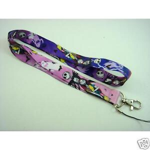 Lot Jack Skellington The Nightmare Before Lanyards Cell Phone PDA Key ID Strap
