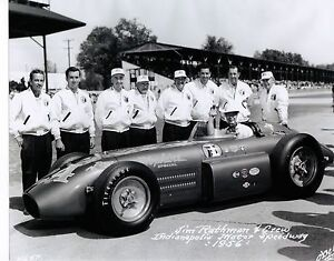 Image Is Loading JIM RATHMANN FRONT ROW QUALIFYING 1956 INDY 500
