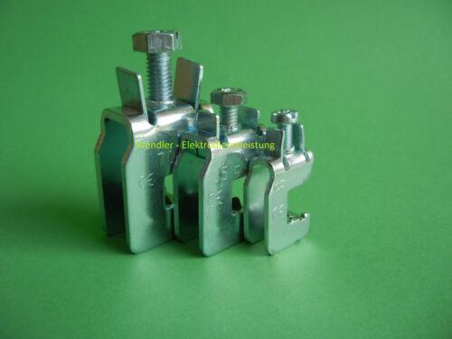 70mm² für CU-Schiene 12 x 10mm mit Montagehilfe Sammelschienenklemme SK70 F10