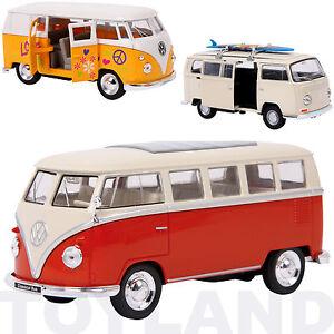 VW-Camper-Van-Tirez-Modele-Jouet-Voiture-V-DUB-split-surf-Cadeau-Peres-pere