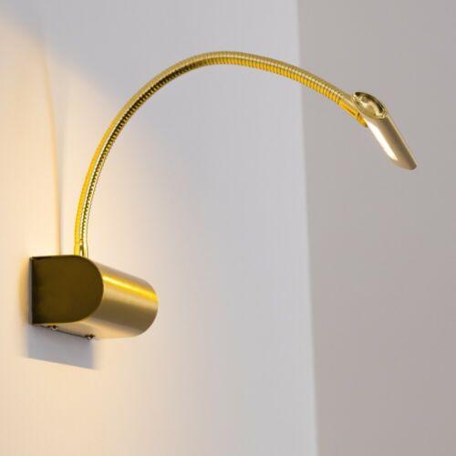 LED Leuchte Schalter Wand Lampen Wohn Zimmer Bilder Bildbeleuchtung messing