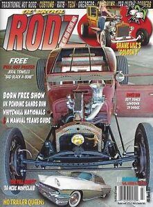Ol-Skool-Rodz-magazine-80-1951-Plymouth-Pendine-Sands-1929-Dodge-Born-Free