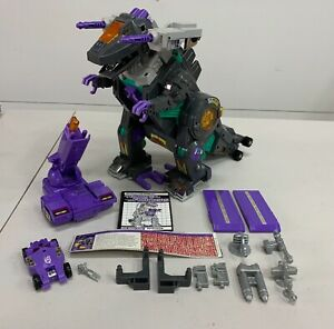 Vintage 1986 Transformers G1 - TRYPTICON - 100% Complete - Works / Clean
