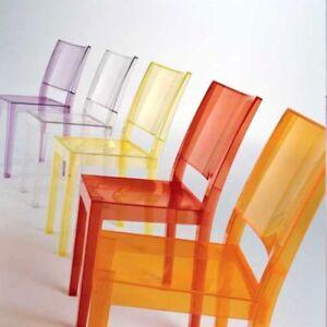 Details zu KARTELL LA MARIE, Ph. Starck Stapelstuhl, Kunststoff Farbwahl,  NEU