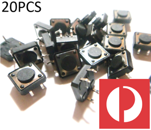 12mm-x-12-x-4-3mm-PCB-Tactile-switch-Push-Button-10pcs-large-big-20pcs-arduino