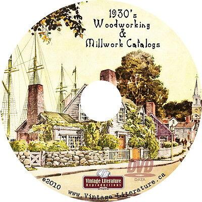 1930's Millwork Home Design Architecture Catalogs { Interior Design } on DVD