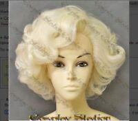 Marilyn Monroe Celebrity Custom Made Wig Hair