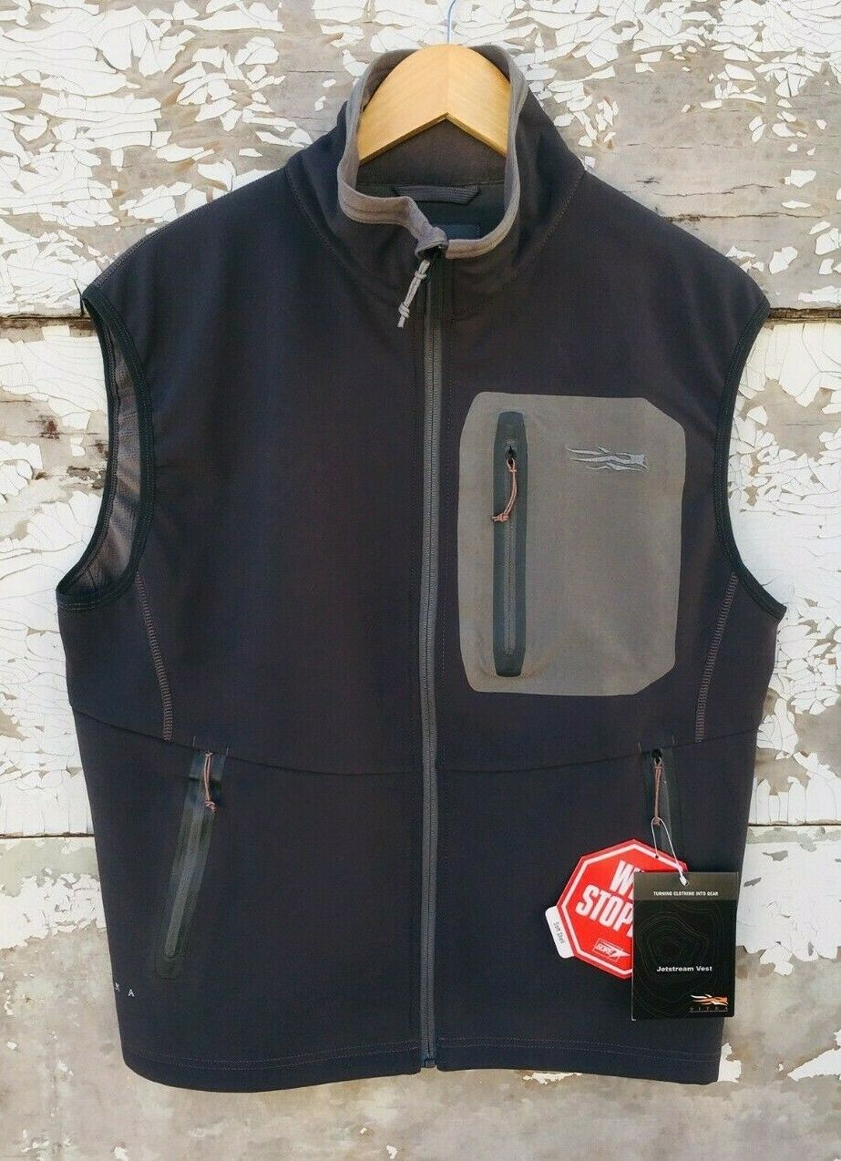 SITKA JETSTREAM VEST SIZE M (NEW WITH  TAGS)
