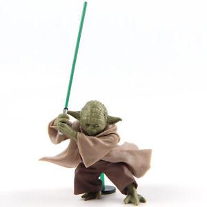 Star-Wars-Jedi-Knight-Yoda-With-Lightsaber-Mini-PVC-Action-Figure-Model-Toy