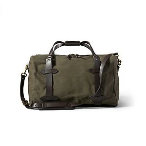 e393bd620080 Filson Duffle Bag Medium Carry-On 70325 Otter Green 703060332592