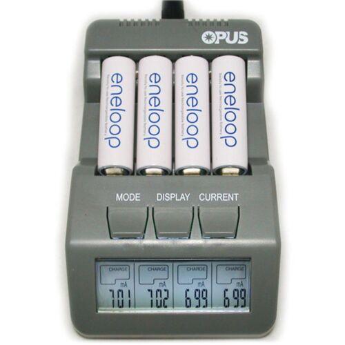 BT-C700 Fast NiCd NiMH LCD Digital Smart Battery Charger For AA 14500 AAA EUPlug