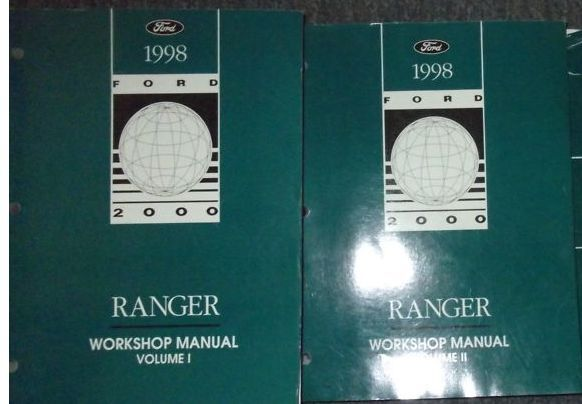 1998 Ford Ranger Truck Service Shop Workshop Repair Manual