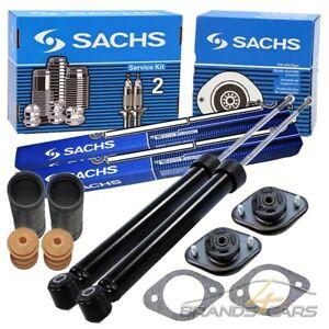 SACHS-2x-STOSSDAMPFER-GAS-HINTEN-DOMLAGER-PROTECTION-KIT-FUR-BMW-3-ER-E36-E46