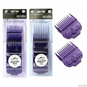 Andis-Nano-Silver-Single-Magnetic-Attachment-guide-Combs-Set