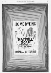 1897-Antique-ADVERTISING-Print-MAYPOLE-SOAP-Home-Dyeing-Any-Colour-66