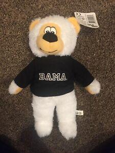 a807030b0b9 Image is loading University-Alabama-Bama-Crimson-Tide-Stuffed-Teddy-Bear-