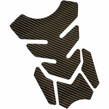 Gear Gremlin Carbon Motorcycle Stylish Gel Tank Pad With Adhesive Backing